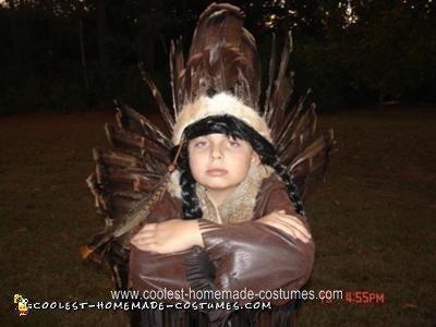 Little Chief Homemade Halloween Costume