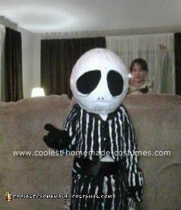 Homemade Little Jack Skellington Costume