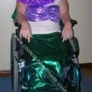 Little Mermaid in a Wheelchair Halloween Costume