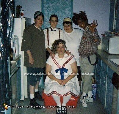 Homemade Little Rascals Costume