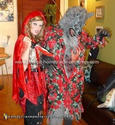 Coolest Little Red Riding Hood and the Wolf Couple Costume 12