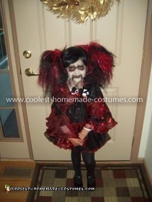 Homemade Living Dead Doll Costume