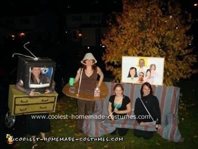 Homemade Living Room Set Costumes