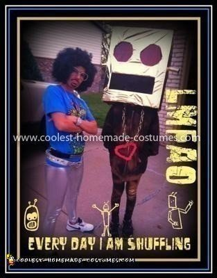 Coolest LMFAO Robot Costume 02