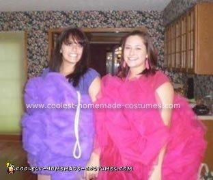 Homemade Loofah Costumes