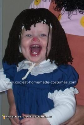 Homemade Loonette and Molly Costumes from the Big Comfy Couch