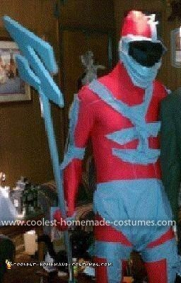 Homemade Lord Zedd Costume