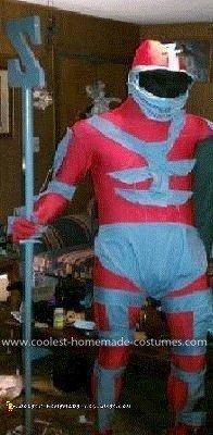 Homemade Lord Zedd Costume