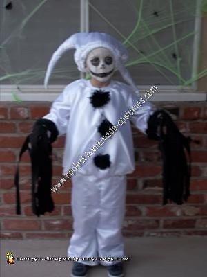 Luna Homemade Ghost from Scooby Doo DIY Halloween Costume Idea