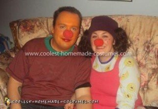 Coolest Lunette The Clown Homemade Costume