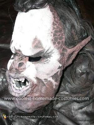 Homemade Lurtz from Lord Of the Rings Costume