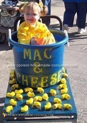 Homemade Mac and Cheese Costume