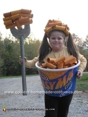Homemade Easy Mac Costume