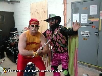 Homemade Macho Man Costume