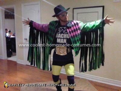 Coolest Macho Man Randy Savage Costume 10