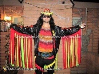 Coolest Macho Man Randy Savage Costume 11