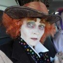 Homemade Mad Hatter DIY Halloween Costume