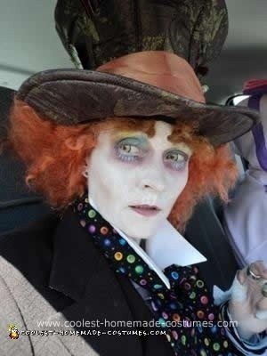 Homemade Mad Hatter DIY Halloween Costume
