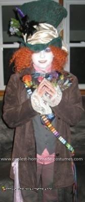 Homemade Mad Hatter Halloween Costume