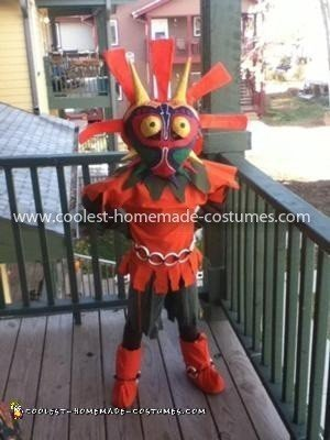Homemade Majora's Mask from Legend of Zelda Costume