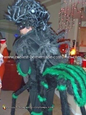 Homemade Man Spider Costume