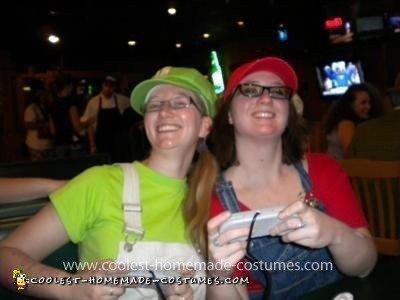 """Homemade """"Maria and Luigia"""" Costumes"""