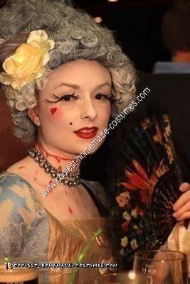 Marie Antoinette Halloween Costume Idea