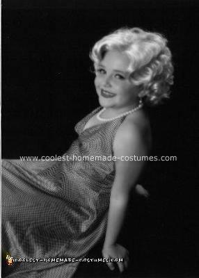 Homemade Marilyn Monroe Costume