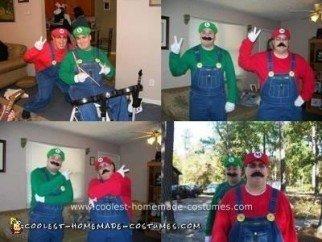 Mario and Luigi Halloween Costume