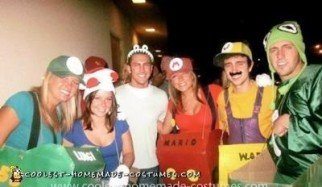 Homemade Mario Kart Group Costume