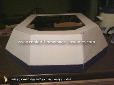 Coolest Mario Kart Group Costume - Kart before being painted