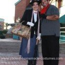 Homemade Mary Poppins and Bert Couple Costume