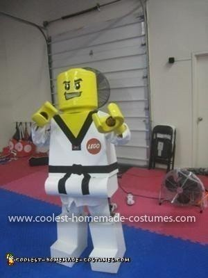 Homemade Martial Arts LEGO Minifig Costume