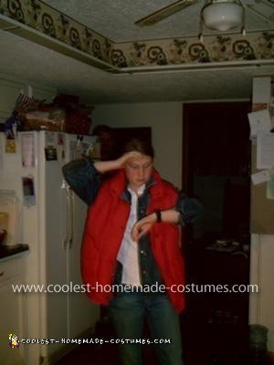 Homemade Marty McFly Costume