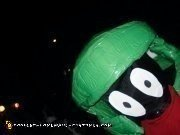 Homemade Marvin the Martian Costume