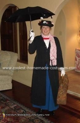 Homemade Mary Poppins Costume