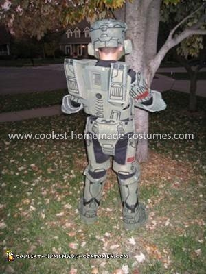 Homemade Master Chief Halo 3 Costume