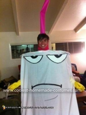 Homemade Master Shake Costume