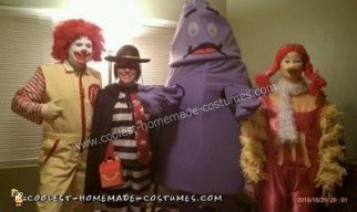 McDonald's Gang Costume