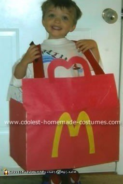 Homemade Happy Meal Costume