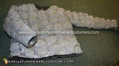 Coolest Medieval Gargoyles on Stone Pedestals Couple Costume - Stones Glued to Shirt