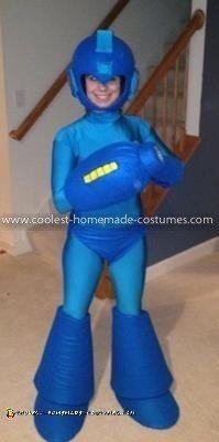 Homemade Mega Man Costume