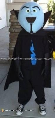 Homemade Megamind Costume