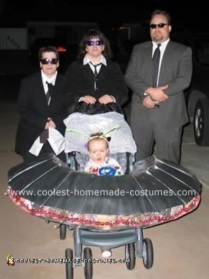 Coolest Men in Black Theme Costume