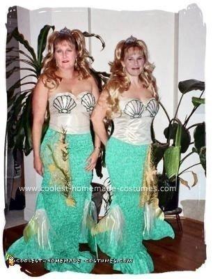 Homemade Mermaids Costumes