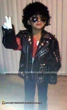 Homemae Michael Jackson Costume