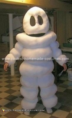 Michelin Man Homemade Halloween Costume