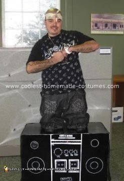 Homemade Midget Rapper Costume