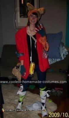 Homemade Mighty Boosh Costume