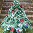 Homemade Mini Christmas Tree Costume